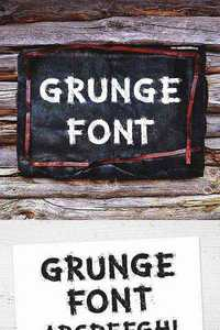 Graphicriver - Grunge Letters and Numbers 11341654