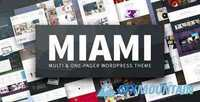 ThemeForest - Miami v1.4.2 - Multi & One Page WordPress Theme - 9222079