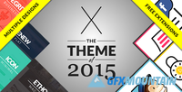 ThemeForest - X v3.2.5 - The Premium WordPress Theme - 5871901
