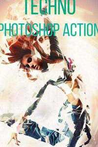 Graphicriver - Techno Photoshop Action 11409608