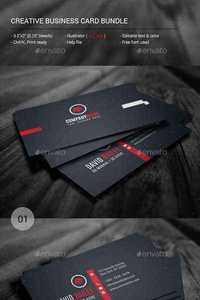 Graphicriver - Creative Business Card Bundle 11364589