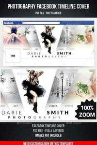 Photography Facebook Timeline Cover - Graphicriver 11240178