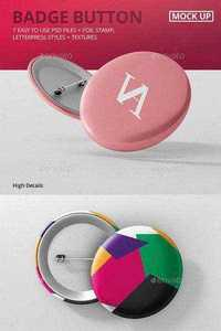 GraphicRiver - Badge Button Mock-Ups 10779415