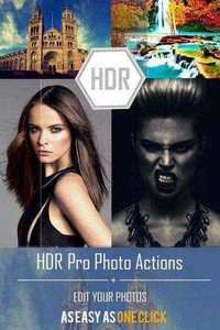 HDR Pro Photo Actions - Graphicriver 11493379