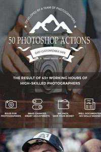 50 Photoshop Actions - Graphicriver 11491656