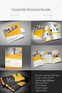 GraphicRiver - Corporate Brochure Bundle 11409507 » Free Download