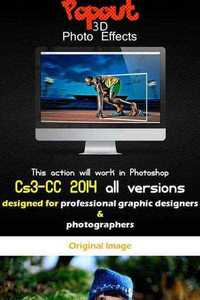 GraphicRiver - Popout 3D Photo Effects 11591989