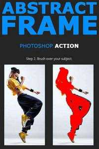 Graphicriver - Abstract Frame Photoshop Action 11628998