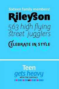 Rileyson Font Family