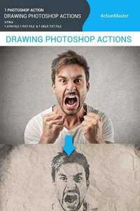 Graphicriver - Drawing Photoshop Action 11649386