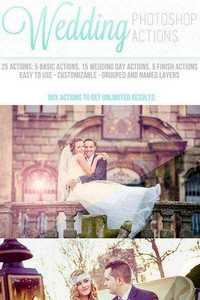 GraphicRiver - Wedding Photoshop Actions 11693121