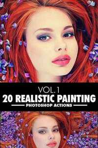 GraphicRiver - 20 Realistic Paintings Vol.1 - Photoshop Action 11653706