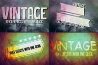 CM - Vintage Text Effects Ver. 1 243409