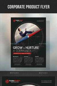 GraphicRiver - Corporate Business Flyer 04 x- 11011724