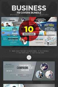 GraphicRiver - Business Facebook Covers Bundle - 10 Designs 11975881