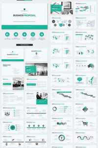 Graphicriver Business Proposal Powerpoint Template