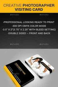 GraphicRiver - Creative Photographer Card 11884673