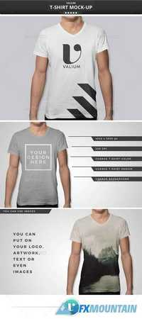 Graphicriver t shirt mockup 12424252 free download for T shirt printing photoshop