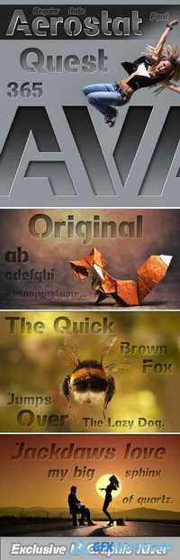 Header 11 font download