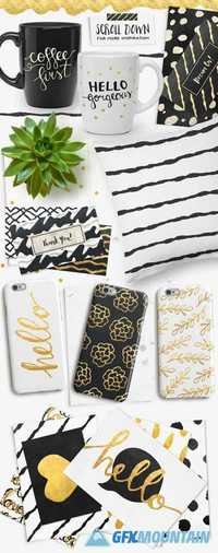 Gold Foil Styles + EXTRAS!