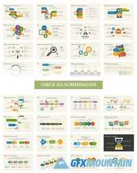 Infographic Powerpoint Template 387478 » Free Download Graphic GFX ...