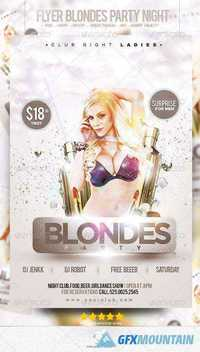 Flyer Blondes Party Night 6950720