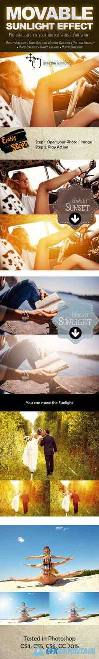 GraphicRiver - Movable Sunlight Effects Photoshop Actions 13222876
