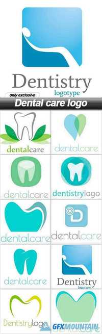 Dental care logo - 10 EPS
