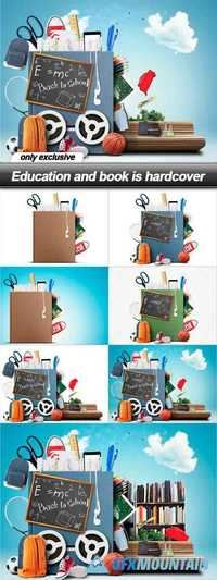 Education and book is hardcover - 7 UHQ JPEG