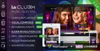ThemeForest - Clubix v2.1.9 - Nightlife, Music & Events WordPress Theme - 6098535