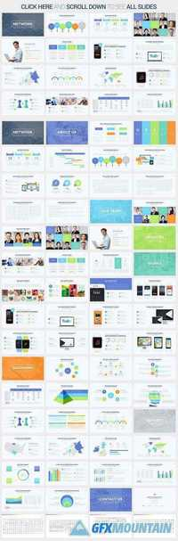 Network Powerpoint Template 412041