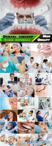 Joyful people on dental checkup - 25 HQ Jpg