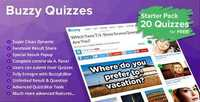 CodeCanyon - Quizzes v1.0 - Plugin for Buzzy - 13619914
