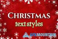 Christmas text styles 447951
