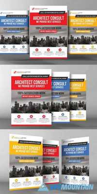 Architect Flyer Template 480802
