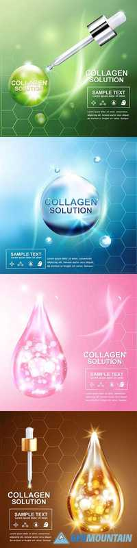 Collagen Solutions - Skin Beauty Concept