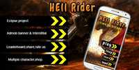 CodeCanyon - Hell Rider v1.0 - Admob Multiple character Leadeboard - 14466904