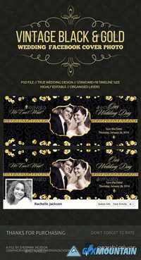 Wedding/Save the Date Facebook Cover Photo 14695631
