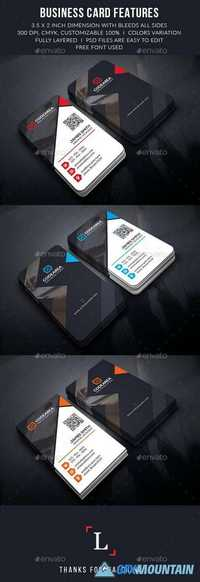 Soft Creative Business Cards 13124060
