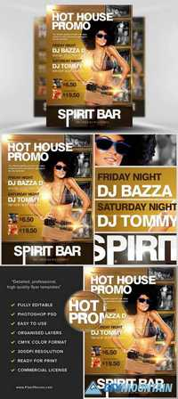 Hot House Flyer