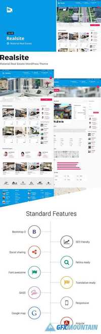 Realsite v1.6.4 - Material Real Estate WordPress Theme 10917194