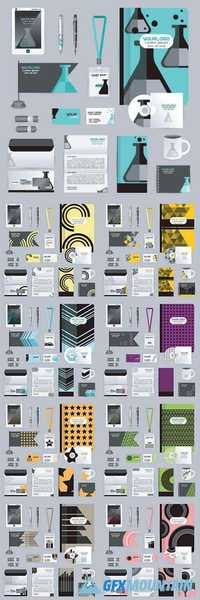 Corporate identity business templates