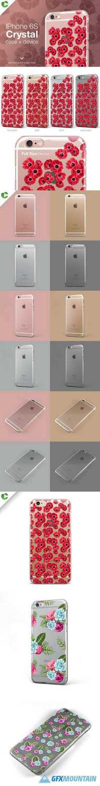 Iphone 6/6S crystal case 321681
