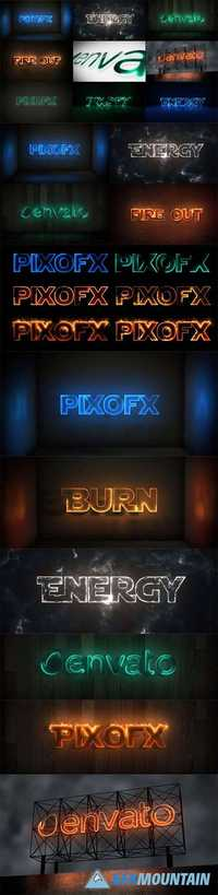 Videohive - Multi Light Kit - Fire Light Neon Energy Composer - 15872578