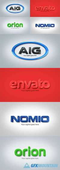 Videohive Strong & Clean Corporate 3D Embossed Logo 15401188