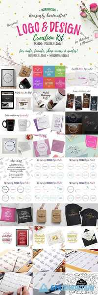 Awesome Logo & Design Creation Kit 735780