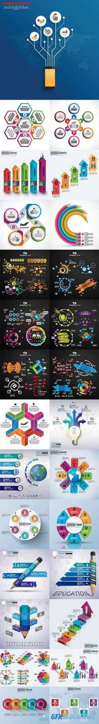 Infographic and diagram business design