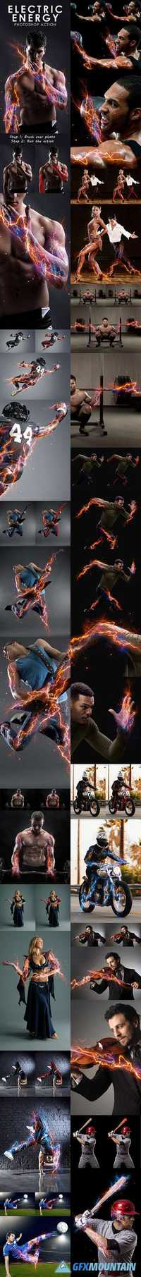GraphicRiver - Electric Energy Photoshop Action 16607820