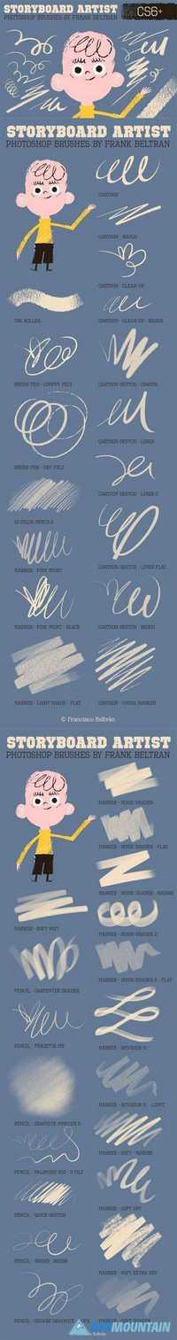 Photoshop Storyboard Artist Brushes 744302