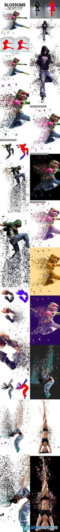 GraphicRiver - Blossoms Photoshop Action 16876177